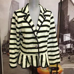 Style & Co. striped jacket